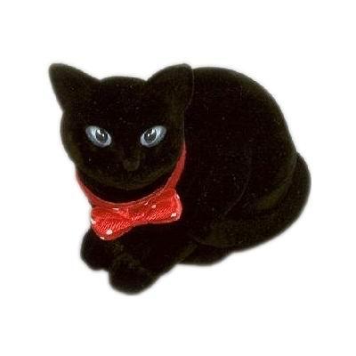 Darčeková krabička semiš - mačka