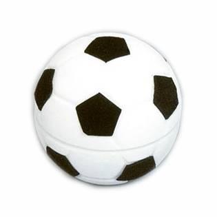 KR0114 Dárková krabička semiš - fotbalový míč