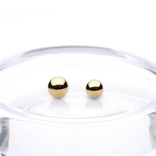 Náhradná guľôčka zlatá 1,6 x 5 mm, 585/1000