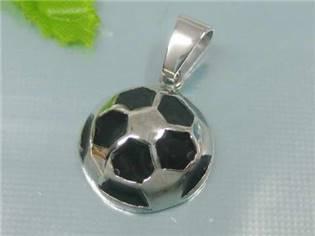 Oceľový prívesok - futbalová lopta