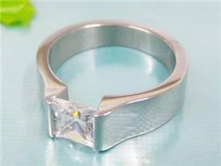 Zásnubný prsteň chirurgická oceľ
