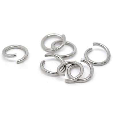 Komponenty - oceľový krúžok 1,4x10 mm