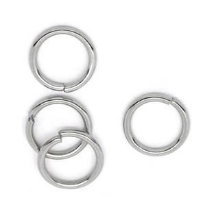 Komponenty - oceľový krúžok 1,2x12 mm