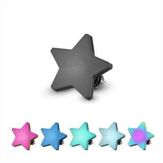 Microdermal - ozdobná časť - hviezda