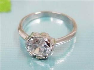 Zásnubný prsteň chirurgická oceľ OPR1257