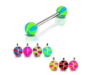 Šperky4U Piercing do jazyku - PJ01051-AP