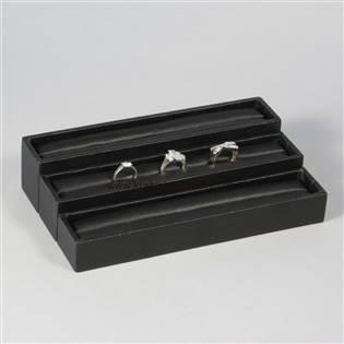 Malé koženkové plato na prstene