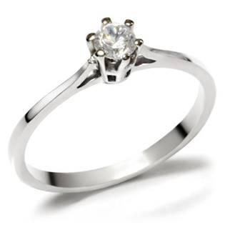 Zástnubný oceľový prsteň so zirkónom OPR1482