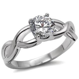 Zásnubný prsteň so zirkónom OPR1484