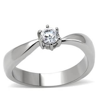 Oceľový prsteň so zirkónom OPR1486