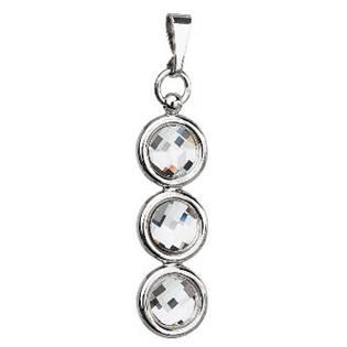 Stříbrný přívěšek s krystaly Crystals from Swarovski®, Crystal