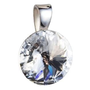Stříbrný přívěšek rivoli Crystals from Swarovski® Crystal