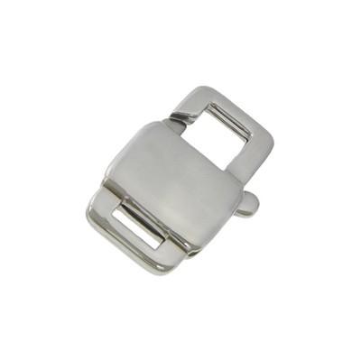 Komponenty - zapínanie - karabínka oceľová 16 mm