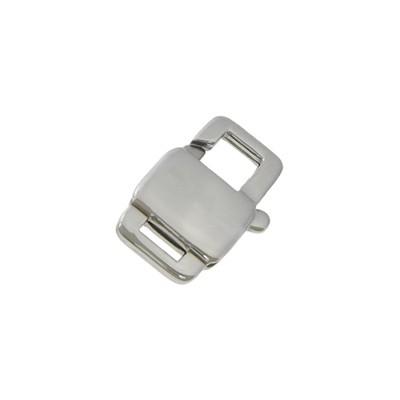 Komponenty - zapínanie - karabínka oceľová 12 mm