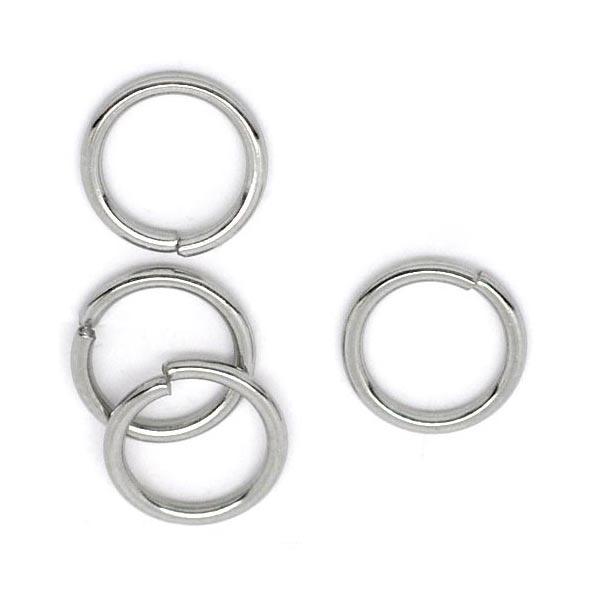 Komponenty - oceľový krúžok 1,2x10 mm