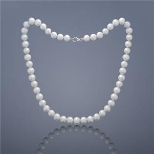 Perlový náhrdelník Buka Mutiara - veľké biele perly