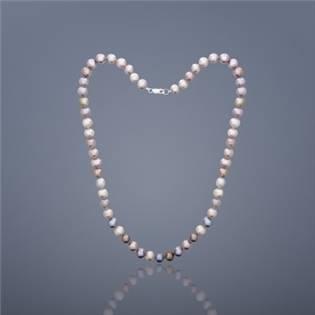 Perlový náhrdelník Buka Mutiara - ružové perly