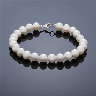 Perlový náramok Buka Mutiara - biele perly