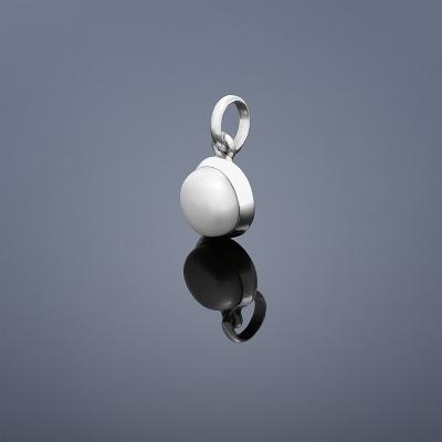 Perlový prívesok Buka - biela perla malá