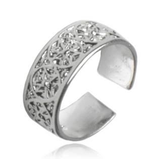 Prsten na nohu s ornamenty