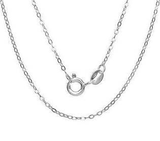 Strieborná retiazka prstencový, dĺžka 50 cm