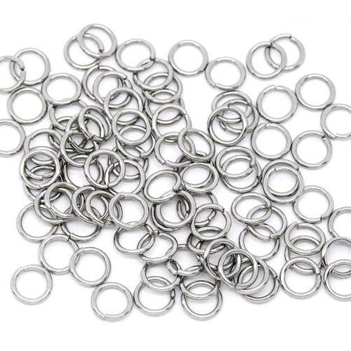Komponenty - oceľový krúžok 0,6x3,5 mm