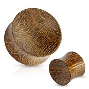 Plug do ucha Snake wood