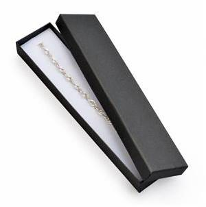 Darčeková krabička na náramok čierna