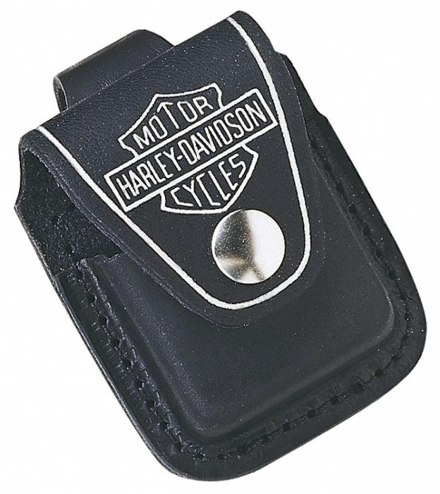 ZIPPO kožená kapsička Harley Davidson