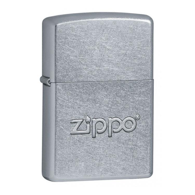 ZIPPO zapalovač Street Chrome logo 25164