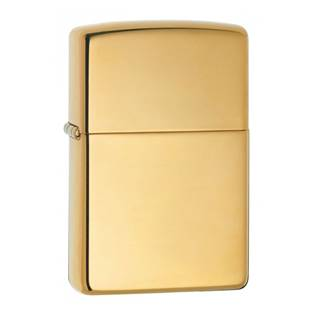 ZIPPO zapalovač High Polished Brass