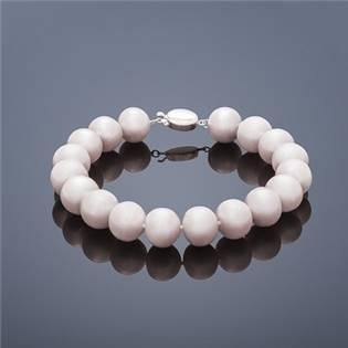 Perlový náramok Buka Mutiara - ružové perly