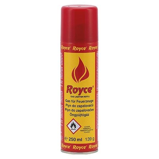 Plyn do zapaľovača Royce