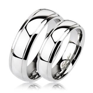 Snubní prsten ocel OPR1409