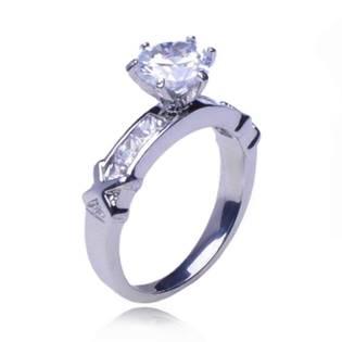 Oceľový prsteň OPR1075, veľ. 54