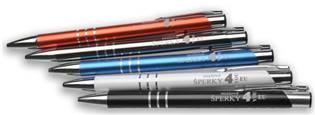 Guličkové pero s gravírom textu