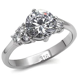 Ocelový prsten se zirkony OPR1554