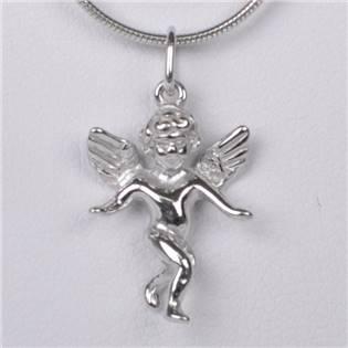 Strieborný prívesok anjelik