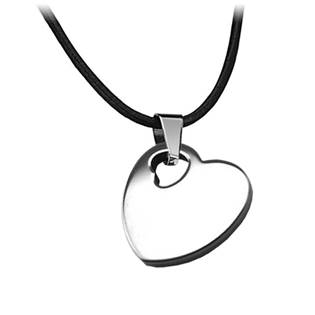 Volfrámový prívesok - srdce