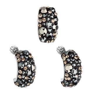 Stříbrný set náušnic a přívěšku s krystaly Crystals from Swarovski®, Colorado