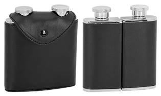 Ocelová kapesní lahev - dvojbalení, 2 x 75ml
