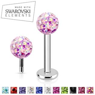 Piercing do brady - labreta - Swarovski ® Elements
