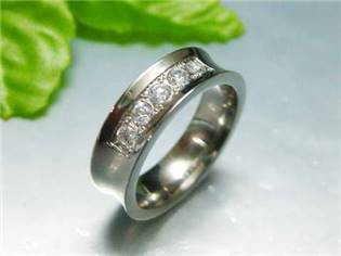 Oceľový prsteň OPR1171, veľ. 60