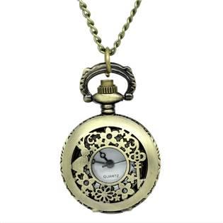 Retro otváracie vreckové hodinky - cibuľa