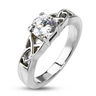 Dámský ocelový prsten OPR1252