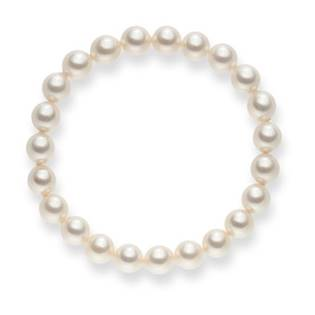 Perlový náramok - Swarovski perly 8 mm