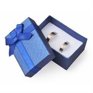 Darčeková krabička na svadobné prstene