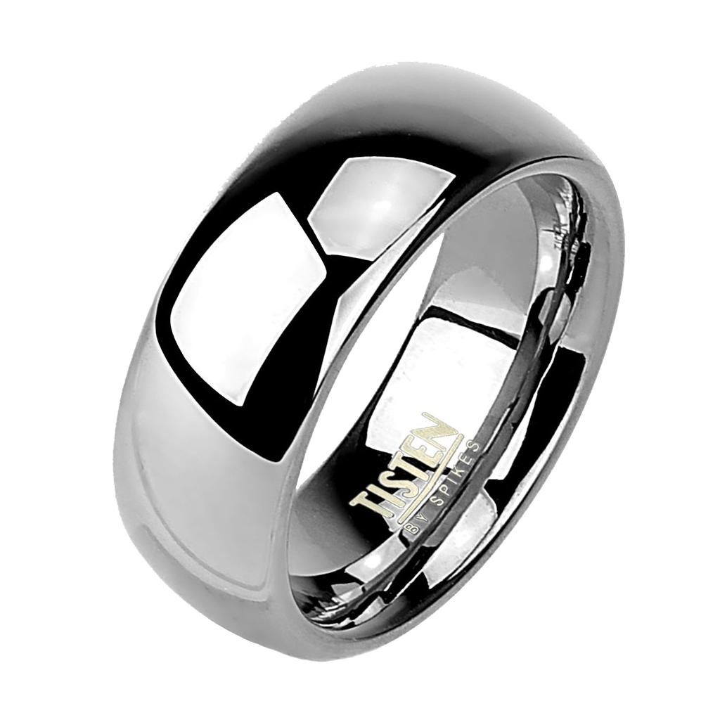 Tistenový prsteň leštený, šírka 6 mm