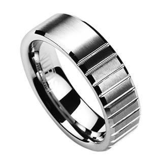 Levně NUBIS® NWF1017 Pánský snubní prsten - velikost 62 - NWF1017-62