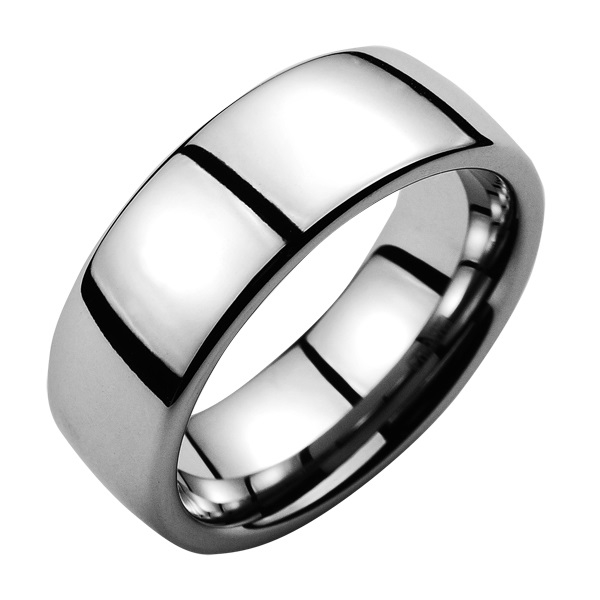 Wolfrámový prsteň, SRE 8 mm